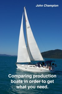 Comparing production boats